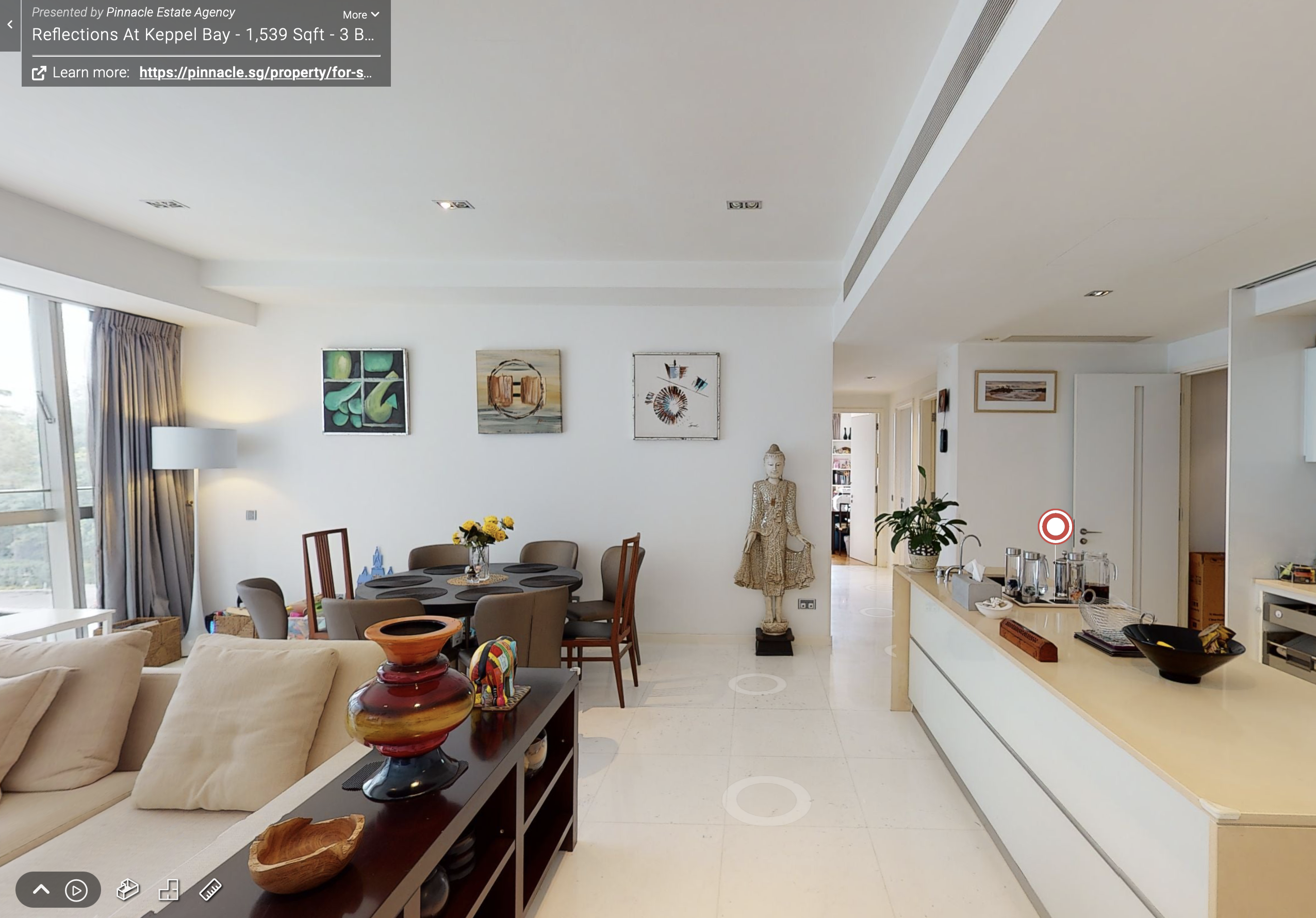 Sell with Interactive 3D Virtual Tour